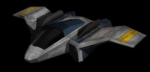 Render of final space ship