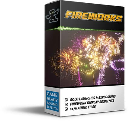 Game-Ready Fireworks Sound Pack